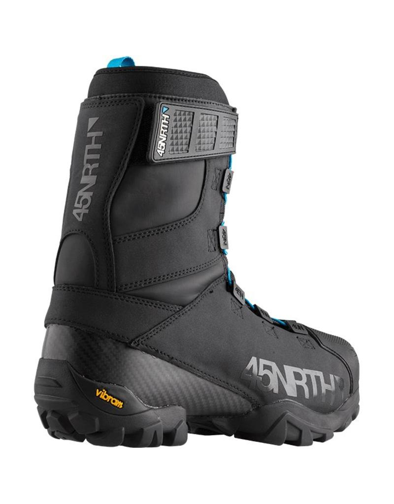 45nrth Wolfgar Winter Cycling Boot: Black Size 45