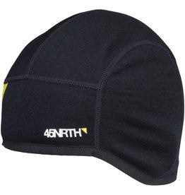 45nrth Stavanger Helmet Liner Hat: Black LG/XL