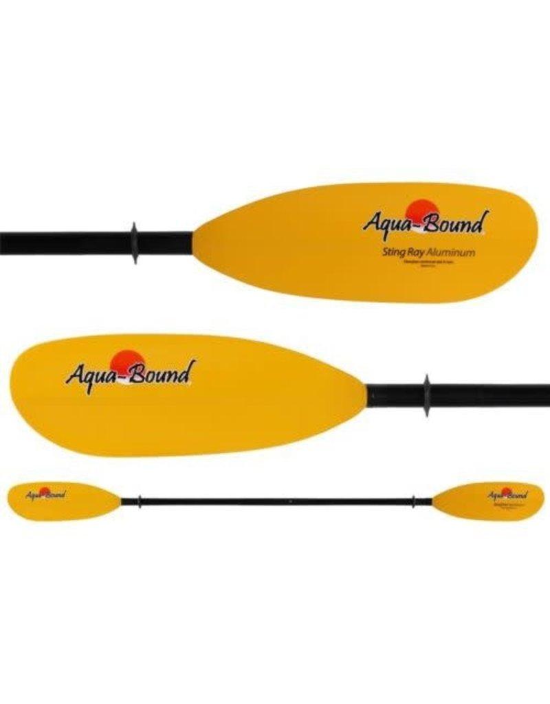 Aqua Bound StingRay Yellow FG Blade/Fiberglass Shaft 2pc 230