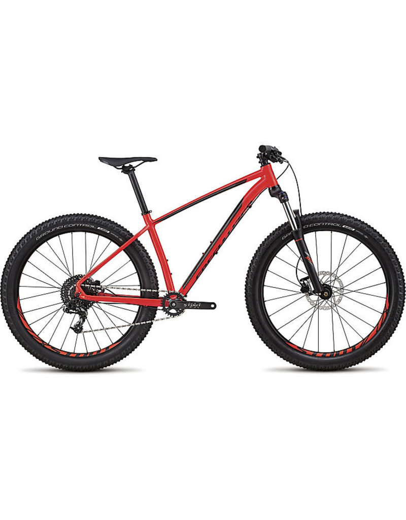 Specialized Fuse 6FATTIE 2018 Gloss Rocket Red/Charcoal/Black S