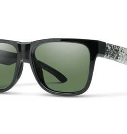 Smith Lowdown 2 Black Canvas Splatter ChromaPop Gray Green