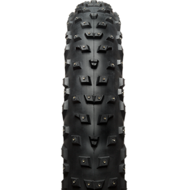 45nrth 45NRTH Wrathchild Tire - 26 x 4.6 Tubeless Folding Black 120tpi Studded