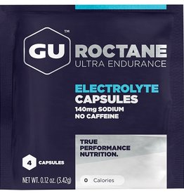 GU Roctane Electrolyte Capsules 100ct Single Serve