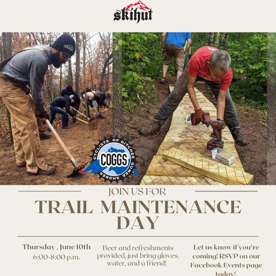 SkiHut Trail Maintenance Day