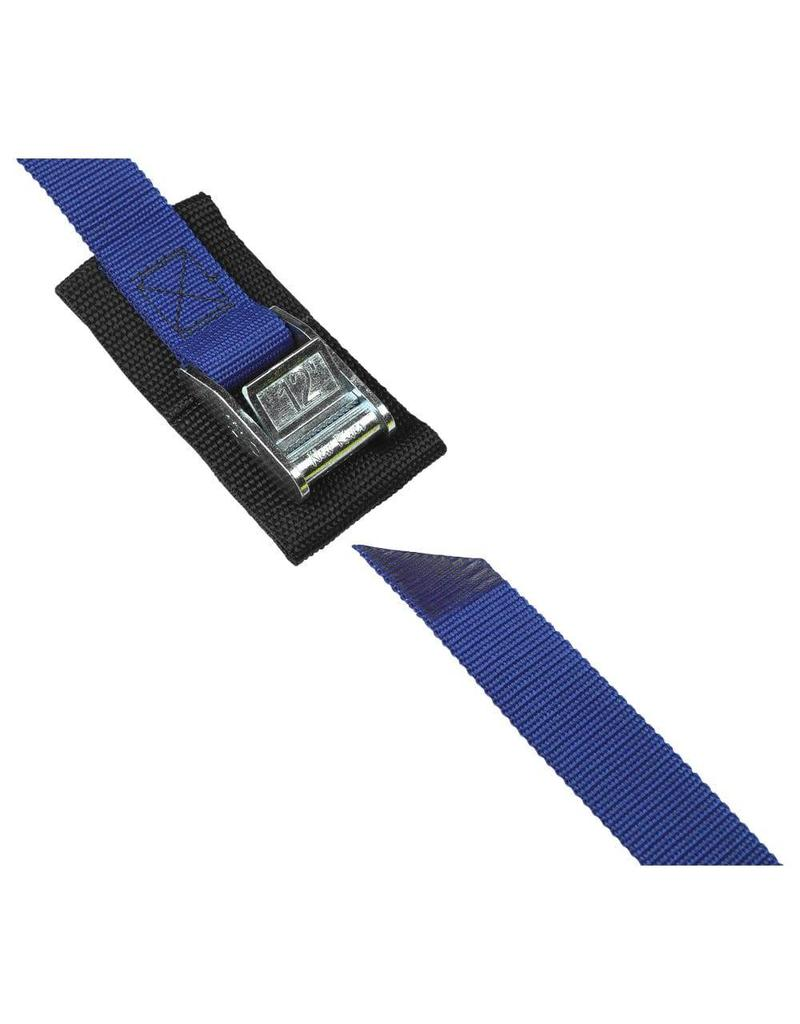 """Salamander Paddle Gear 1"""" Cam Buckle 12' Strap with Pad (Blue)"""