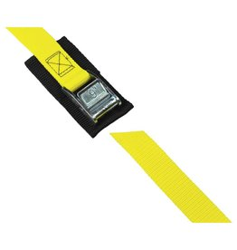 Salamander Paddle Gear 1'' Cam Buckle 9' Strap with Pad (Yellow)