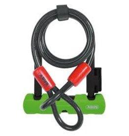 Abus ABUS Keyed Ultra 410 U-Lock Mini LS + Cobra 10/120
