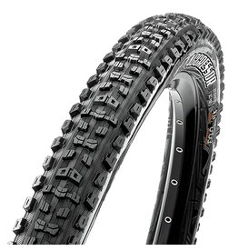 """Maxxis Aggressor Tire: 29 x 2.30"""", Folding, 120tpi, Dual Compound, 2-Ply Double Down, Tubeless Ready, Black"""