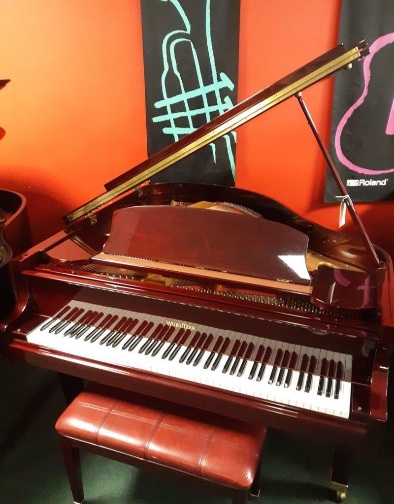 "Wurlitzer Wurlitzer C-153 5'1"" Grand Piano (High Polished Mahogany) (pre-owned)"