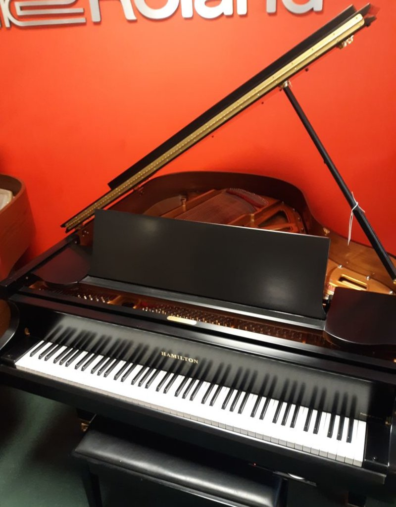 "Hamilton Hamilton H-165 5'4"" Player Grand Piano (Ebony) (pre-owned)"