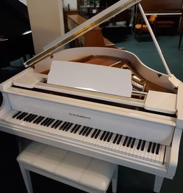 "Baldwin D. H. Baldwin C-142 4'7"" Grand Piano (High Polished White) (pre-owned)"