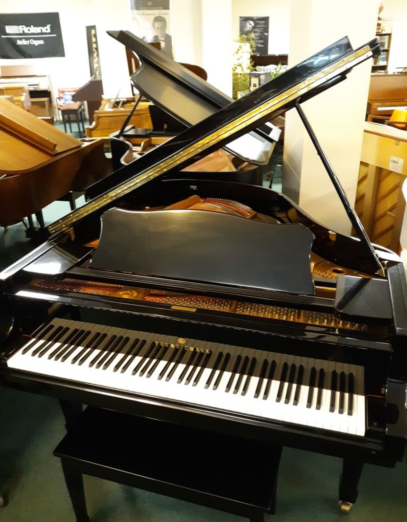 """Young Chang Young Chang G-157 5'2"""" Grand Piano (pre-owned)"""