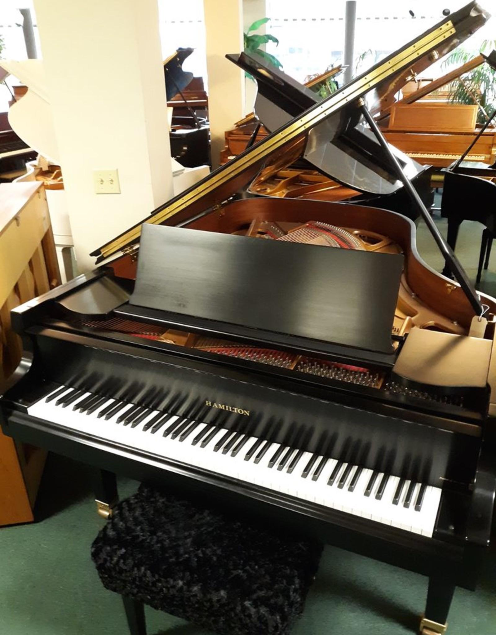 """Hamilton Hamilton H-401 6'2"""" Grand Piano (High Polished Ebony) (pre-owned)"""