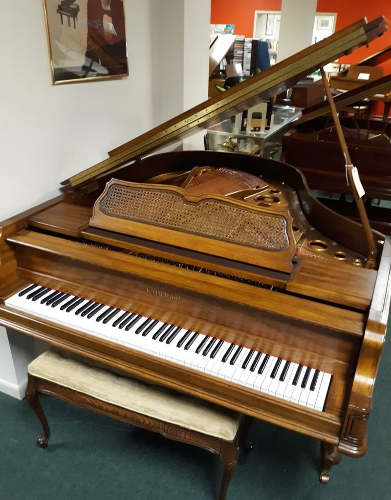"Kimball Kimball 5883 5'2"" Grand Piano (Pecan) (pre-owned)"