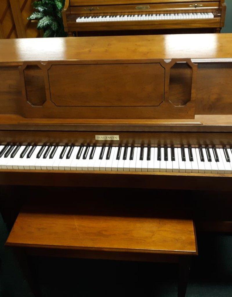 "Baldwin Baldwin Classic 603 40"" Vertical Piano (Pecan) (pre-owned)"