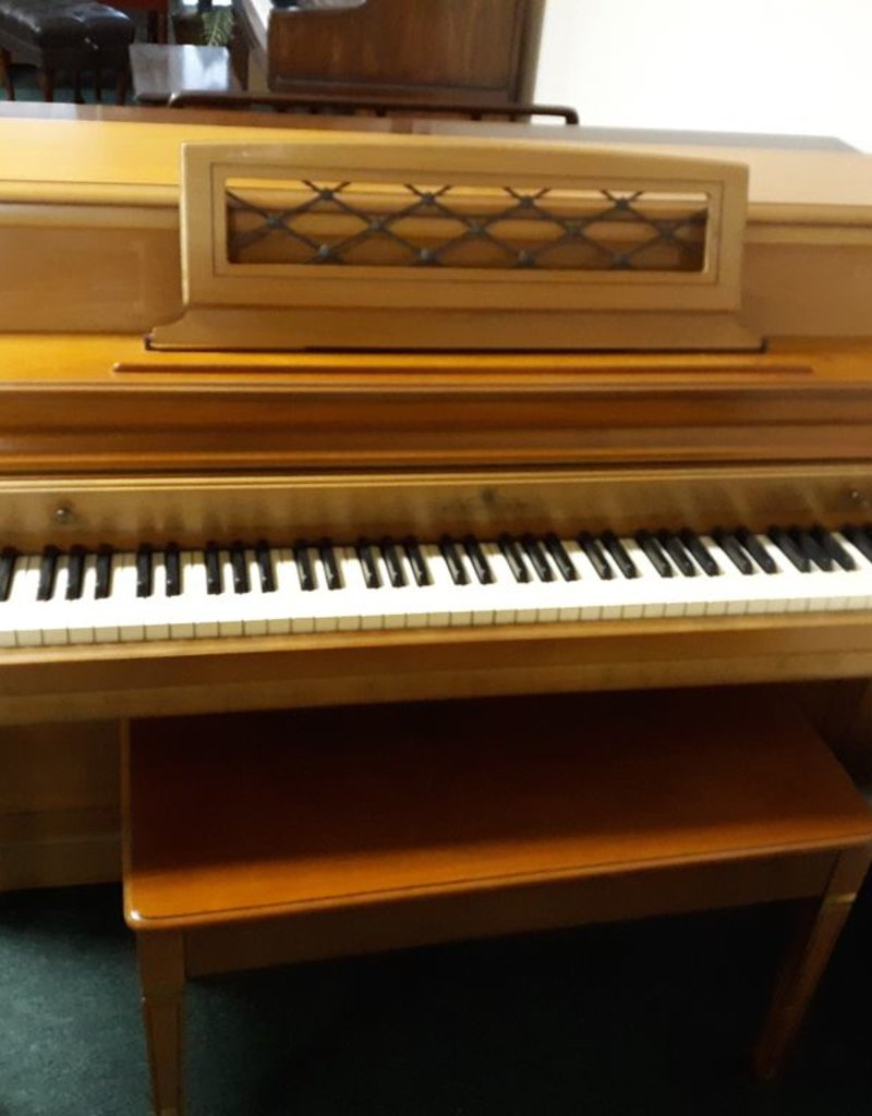 "Wurlitzer Wurlitzer Console 40"" Vertical Piano (Walnut) (pre-owned)"