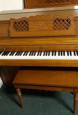 "Wurlitzer Wurlitzer Console 40"" Vertical Piano (Oak) (pre-owned)"