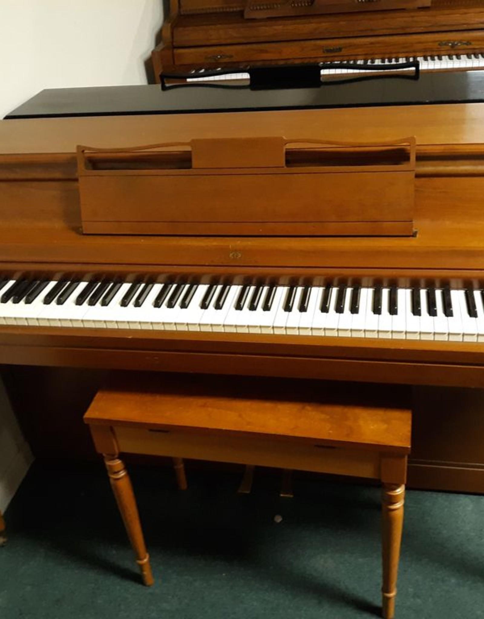 "Wurlitzer Wurlitzer Spinnet 37"" Vertical Piano (Pecan) (pre-owned)"