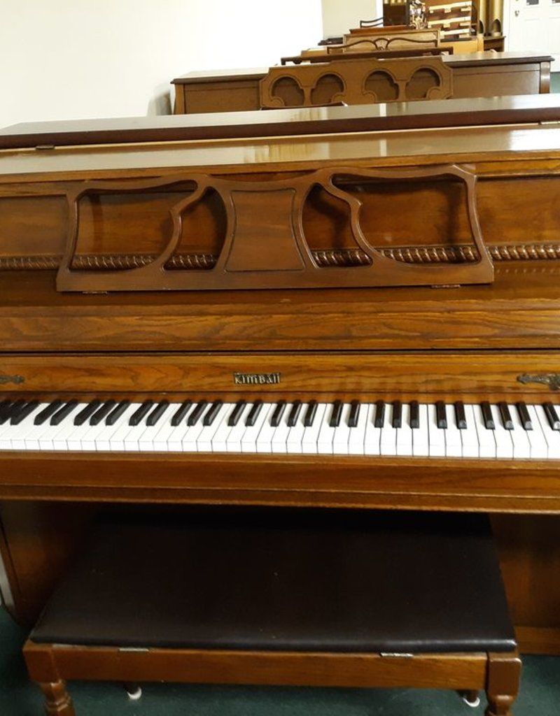 "Kimball Kimball 415R 43"" Vertical Piano (Pecan) (pre-owned)"