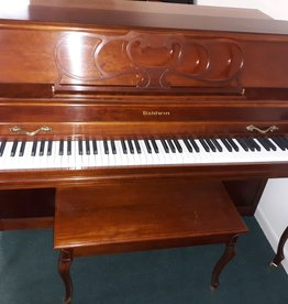 "Baldwin Baldwin 2076 Acrosonic 43"" Console Vertical Piano French Provincial (Cherry) (pre-owned)"