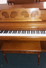 """Wurlitzer Rudolph Wurlitzer P250 Console 40"""" Vertical Piano (Pecan) (pre-owned)"""