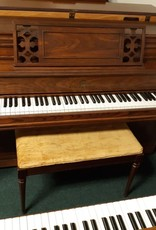 "Story & Clark Story and Clark Console 40"" Vertical Piano (Pecan) (pre-owned)"