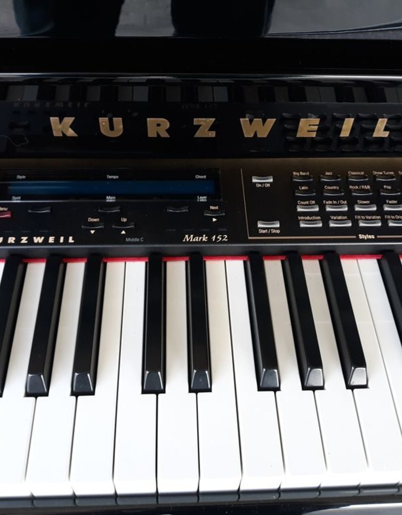 Kurzweil Kurzweil MARK 152 Digital Grand Piano (High Polished Ebony) (pre-owned)