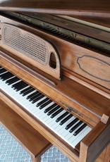 """Currier Currier Console 40"""" Vertical Piano French Provincial (Walnut) (pre-owend)"""