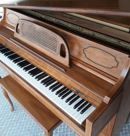 "Currier Currier Console 40"" Vertical Piano French Provincial (Walnut) (pre-owend)"