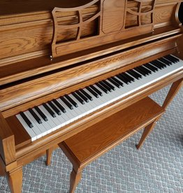 "Ritmuller Ritmuller UP110R6 Console 43"" Vertical Piano (Oak) (pre-owned)"