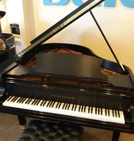 "Mason & Hamlin Mason & Hamlin MH-58 ""Model A"" 5'8.5"" Grand Piano (Satin Ebony)"