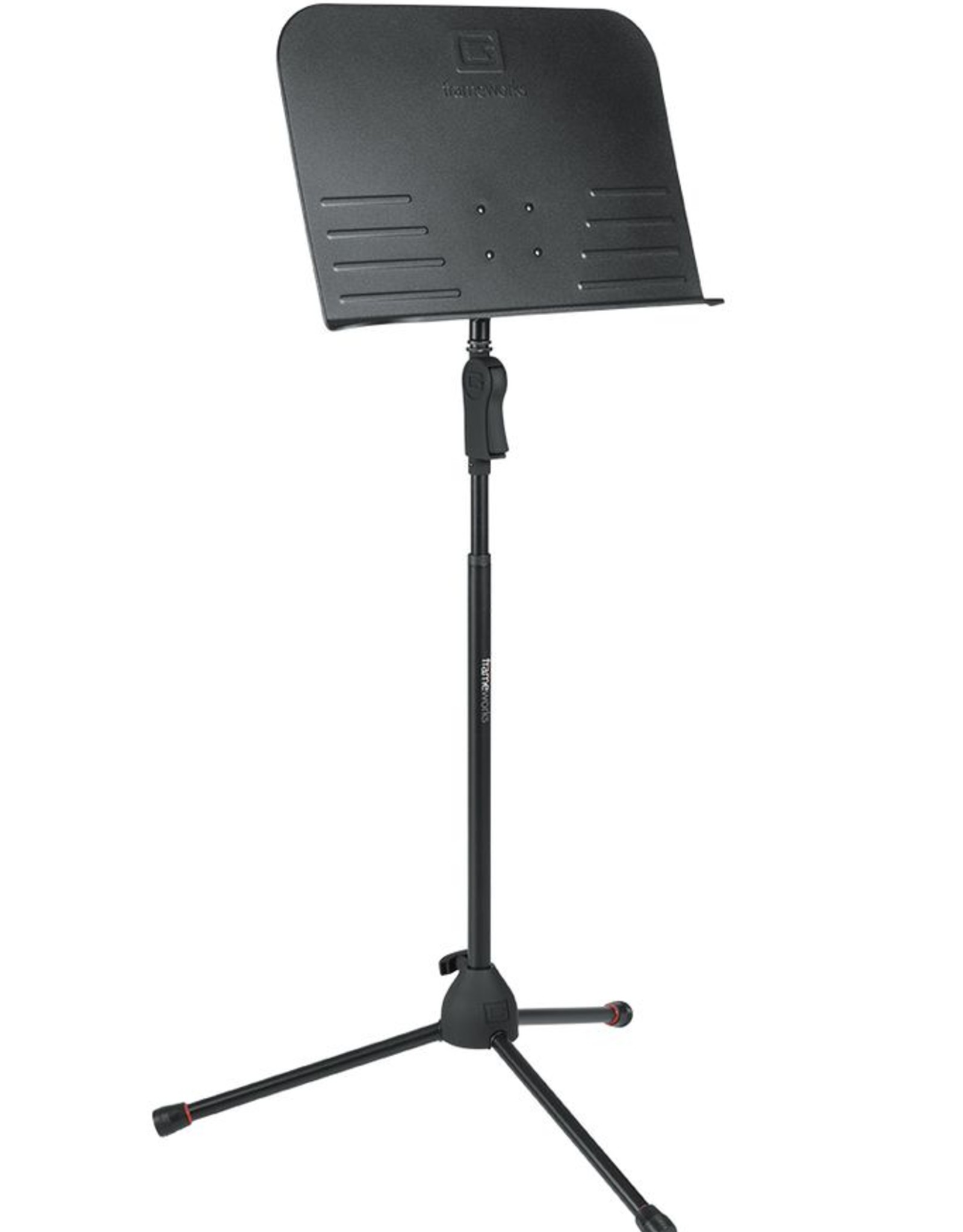 Gator Gator Frame Works. Deluxe Tripod Sheet Music Stand with One Handed Clutch Height Adjustment