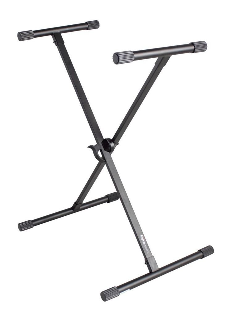 Gator Gator Frame Works Standard Adjustable 'X' Style Keyboard Stand with Rubberized Leveling Feet