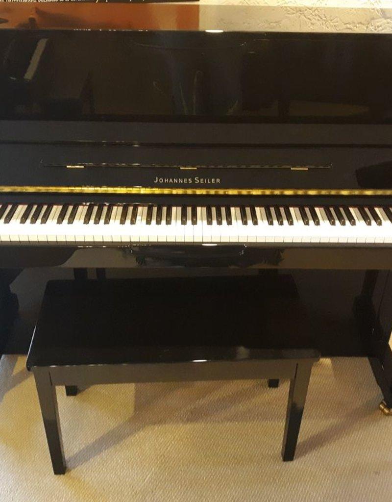 "Seiler Johannes Seiler GS-118PS 47"" Vertical Piano with Piano Scan (Sound Module Ready) (High Polish Ebony)"