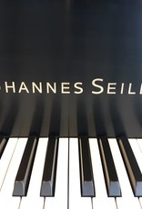 "Seiler Johannes Seiler GS-175 5'9"" Grand Piano (Satin Ebony with Mahogony Inner Rim)"