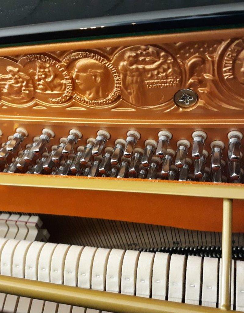 """Seiler Eduard Seiler ED-126-M Primus 49"""" Vertical Piano (High Polish Ebony) (Magnetic Action)"""