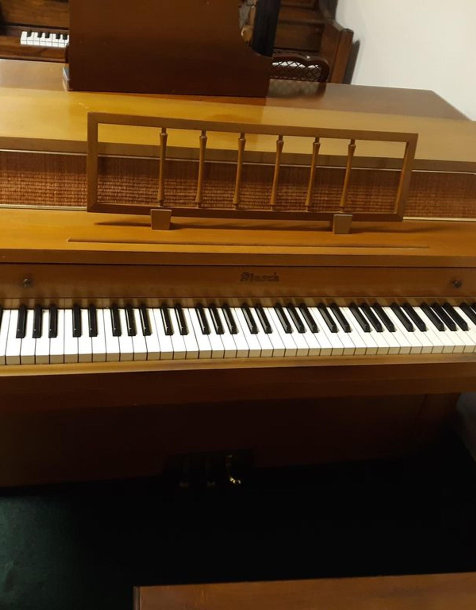 "Starck Starck 471 Console 36"" Vertical Piano (Oak) (Pre owned)"