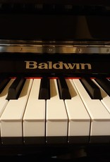 "Baldwin Baldwin BP1S 47"" Studio Upright Vertical Piano (High Polish Ebony with Silver Hardware and Nameplate)"
