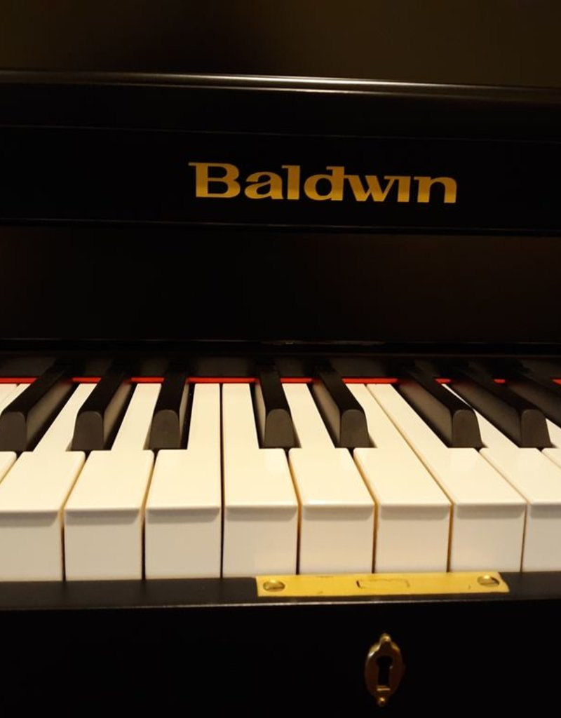 "Baldwin Baldwin B47/243 47"" Institutional Studio Upright Vertical Piano (Satin Ebony)"