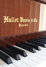"Hallet Davis & Co. Hallet, Davis and Co HS160 5'3"" Elite Grand Piano (High Polish Dark Walnut)"