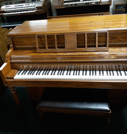 "Kimball Kimball 414R Console 40"" Vertical Piano (Oak) (Pre owned)"