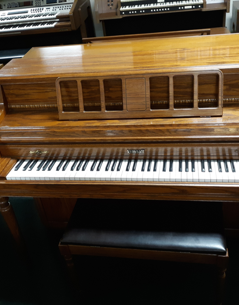 """Kimball Kimball 414R Console 40"""" Vertical Piano (Oak) (Pre owned)"""