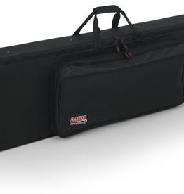 Gator Rigid EPS Foam Lightweight Case w/Wheels for Slim 76-note keyboards