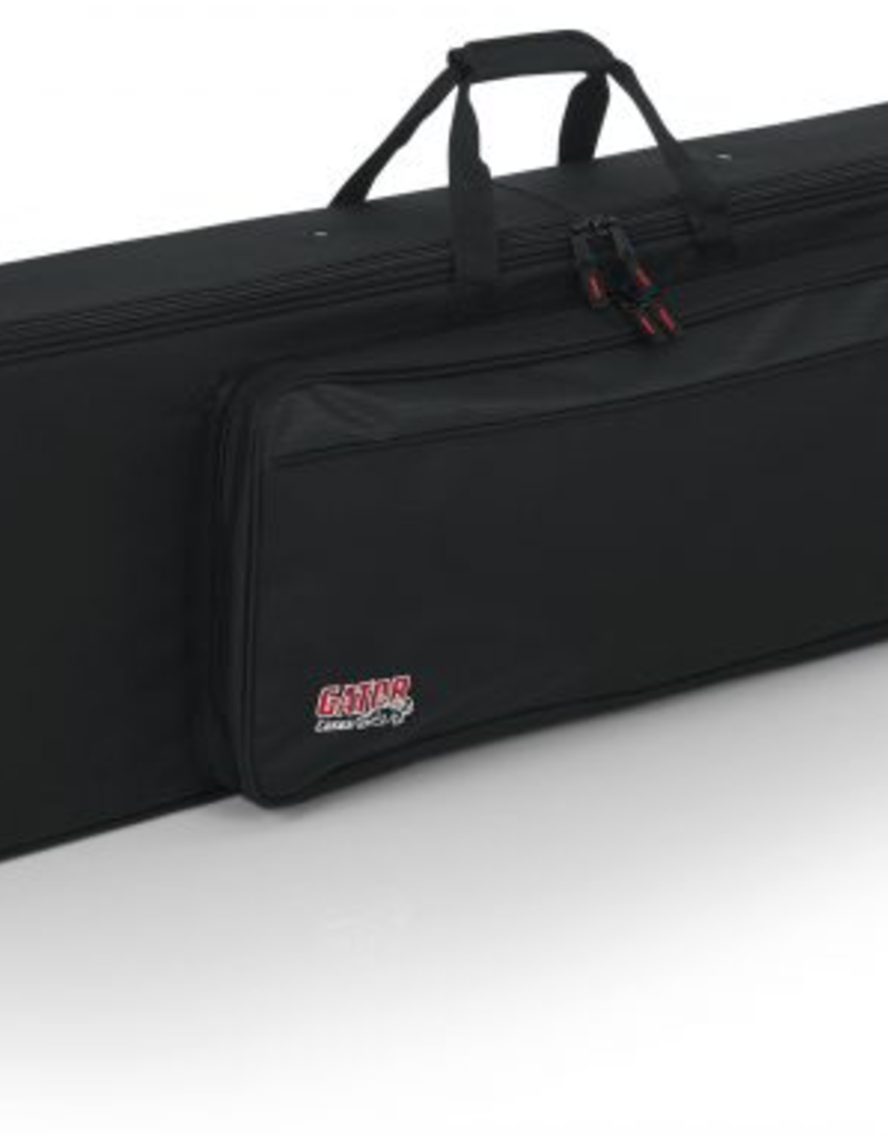 Gator Rigid EPS Foam Lightweight Case w/Wheels for Slim 76-note keyboards