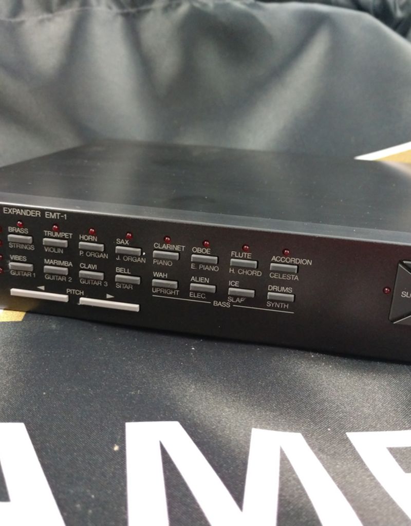Yamaha EMT-1 FM Sound Expander - Midi Module with Power Supply