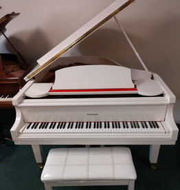 "Howard C171 5'8"" Grand Piano (White) (pre-owned)"