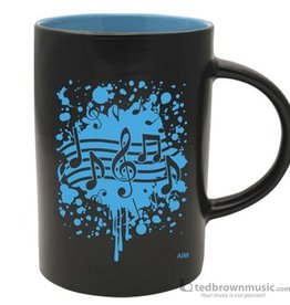 Coffee Mug - Note Burst (Blue)