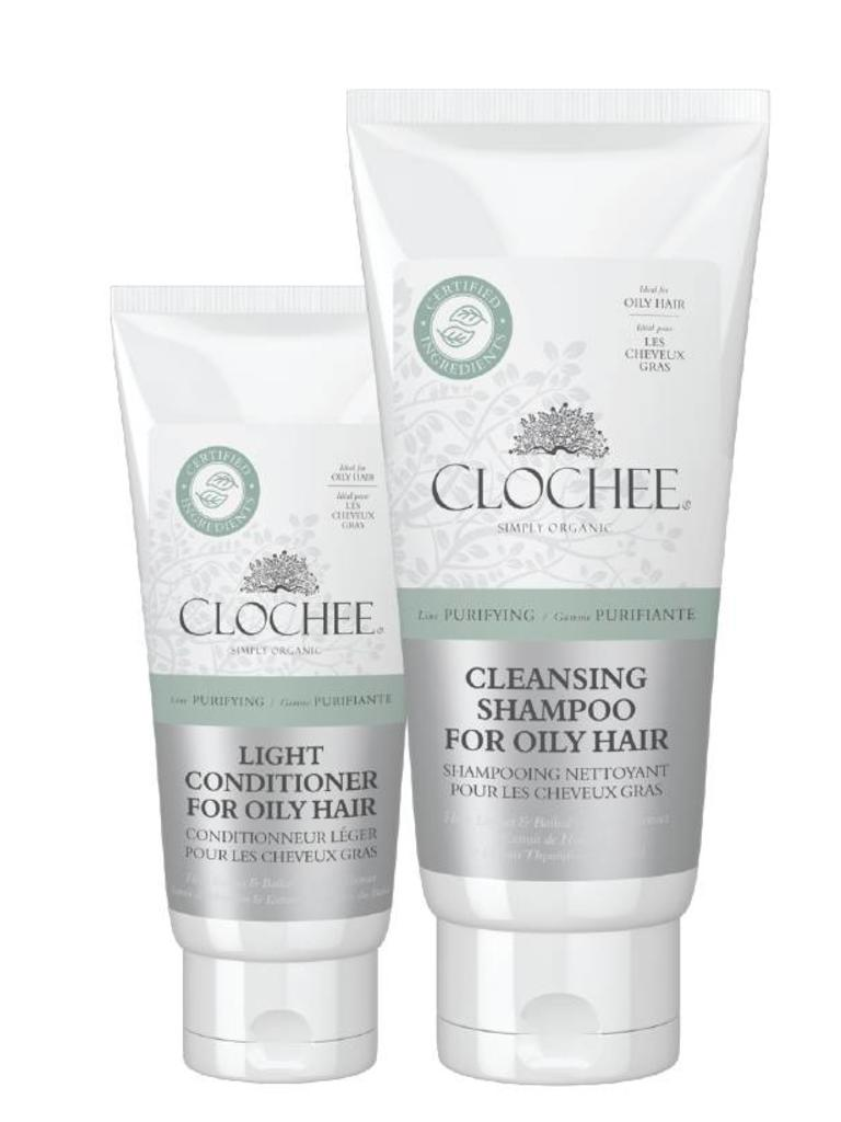 Clochee Combo Cleansing Shampoo & Conditionner for Oily Hair - Les