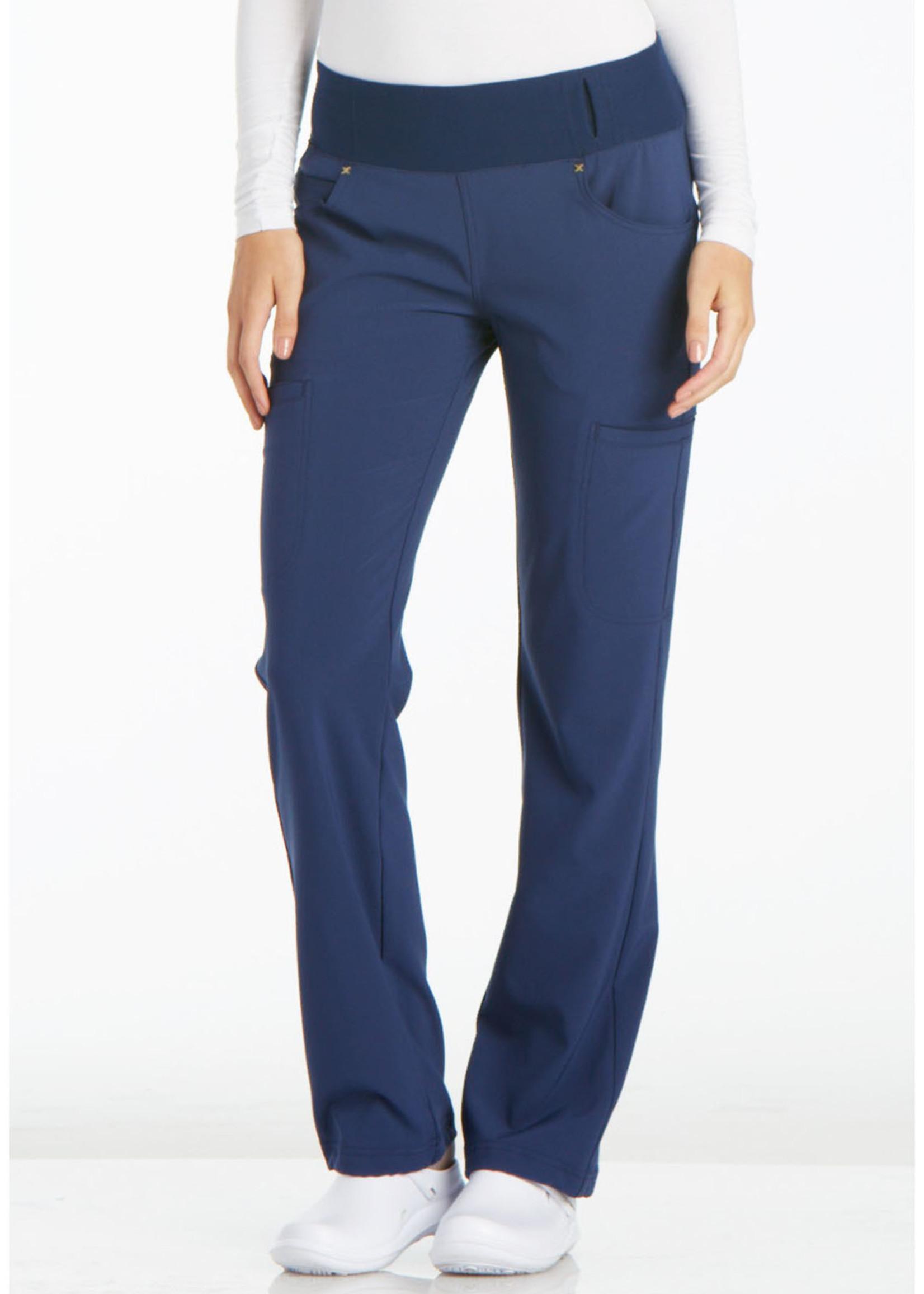 Mid Rise Straight Leg Pull-on Pant - Cherokee Pant CK002