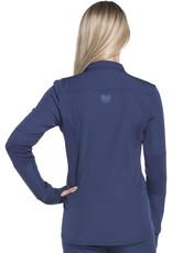 HeartSoul Zip Front Warm-up Jacket in Pewter - Heartsoul Jacket HS315